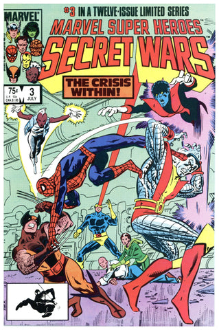 Marvel Super Heroes Secret Wars #3 NM+