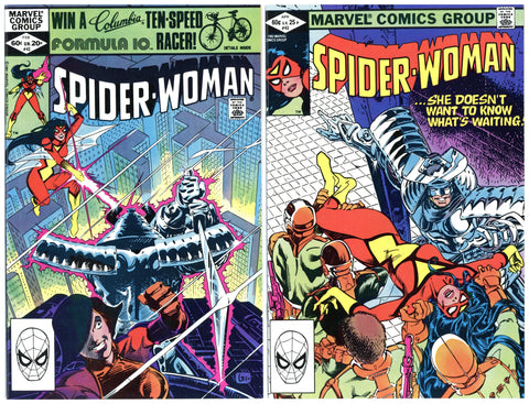 Spider-Woman #42 thru 49 VF to NM (8 books total)