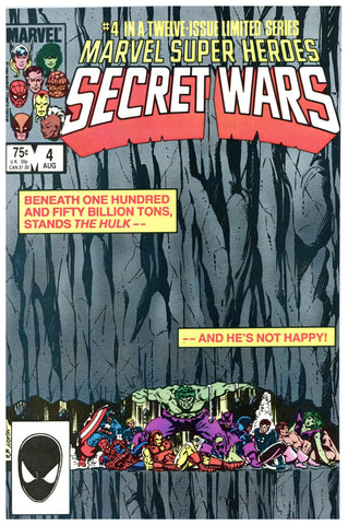 Marvel Super Heroes Secret Wars #4 NM+