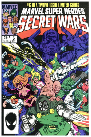 Marvel Super Heroes Secret Wars #6 NM/Mint