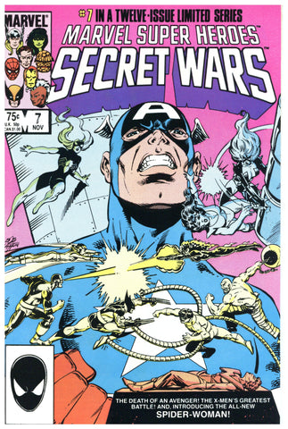 Marvel Super Heroes Secret Wars #7 NM+