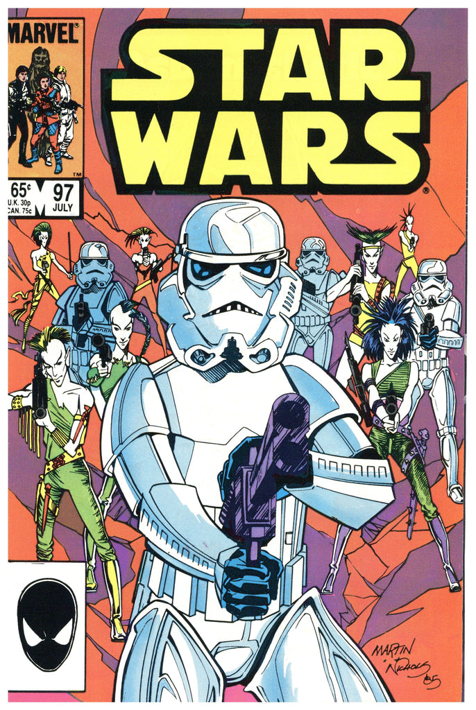 Star Wars #97 NM