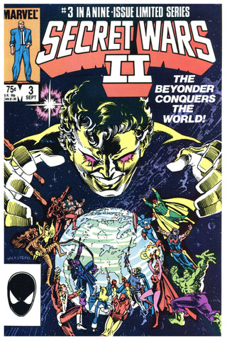 Secret Wars II #3 VF-