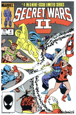 Secret Wars II #4 NM/MT