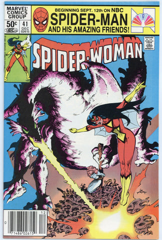 Spider-Woman #41, 45, 46 and 47 VF to NM (4 books total)
