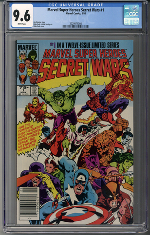 Marvel Super Heroes Secret Wars #1 CGC 9.6