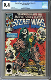 Marvel Super Heroes Secret Wars #10 CGC 9.4