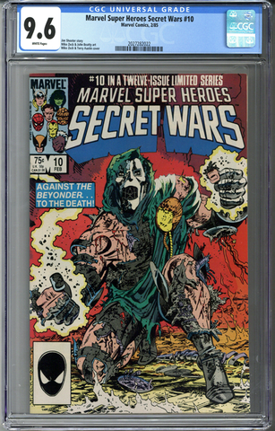 Marvel Super Heroes Secret Wars #10 CGC 9.6
