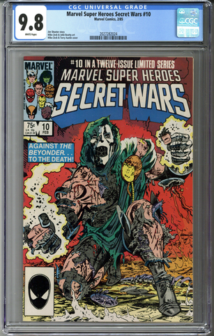 Marvel Super Heroes Secret Wars #10 CGC 9.8
