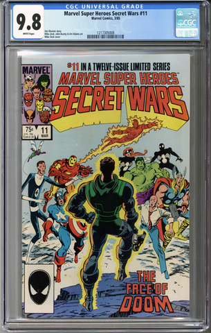 Marvel Super Heroes Secret Wars #11 CGC 9.8