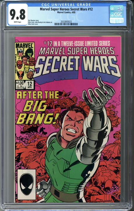 Marvel Super Heroes Secret Wars #12 CGC 9.8