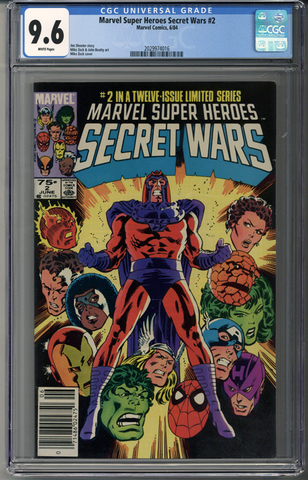Marvel Super Heroes Secret Wars #2 CGC 9.6