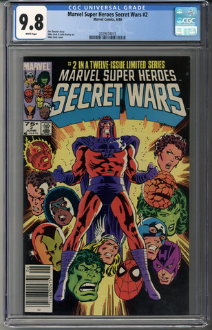Marvel Super Heroes Secret Wars #2 CGC 9.8