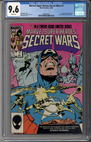 Marvel Super Heroes Secret Wars #7 CGC 9.6