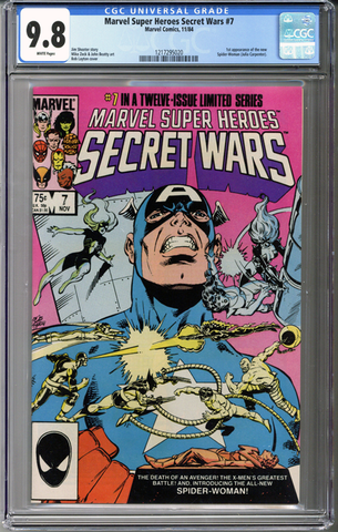 Marvel Super Heroes Secret Wars #7 CGC 9.8