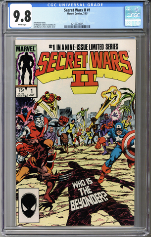Secret Wars II #1 CGC 9.8