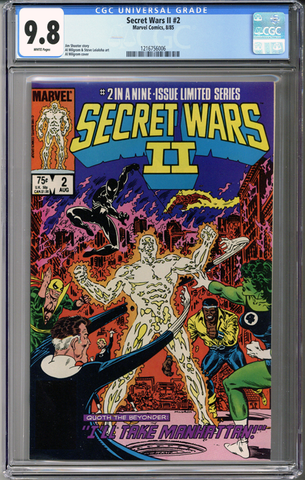 Secret Wars II #2 CGC 9.8