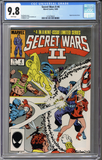 Secret Wars II #4 CGC 9.8