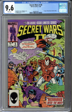 Secret Wars II #5 CGC 9.6