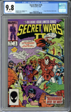 Secret Wars II #5 CGC 9.8