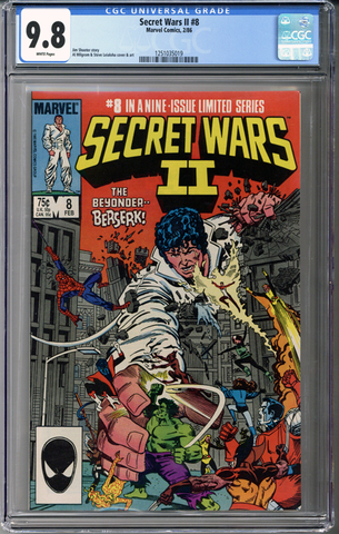Secret Wars II #8 CGC 9.8
