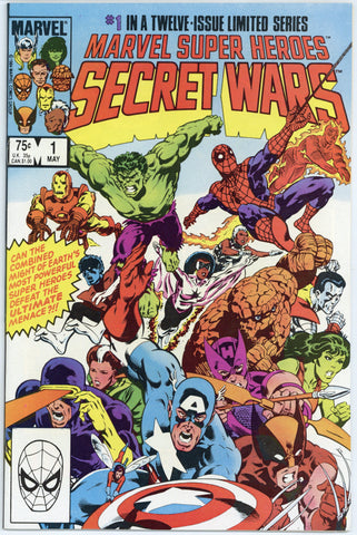 Marvel Super Heroes Secret Wars #1 NM+