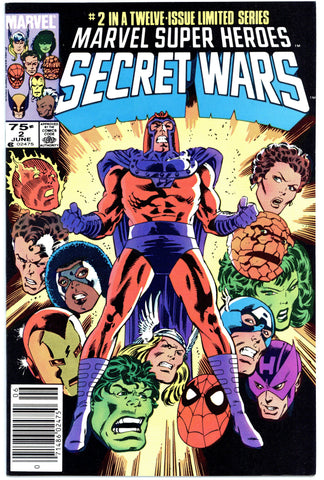 Marvel Super Heroes Secret Wars #2 NM+