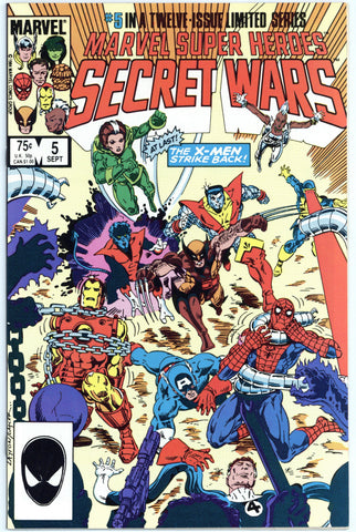 Marvel Super Heroes Secret Wars #5 NM/MT