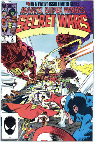 Marvel Super Heroes Secret Wars #9 NM/MT