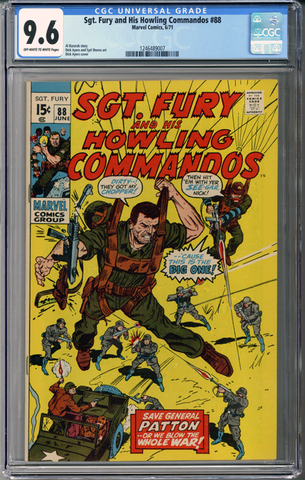 Sgt Fury and his Howling Commandos #88 CGC 9.6