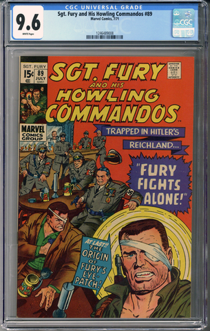 Sgt Fury and his Howling Commandos #89 CGC 9.6
