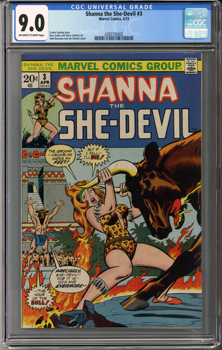 Colorado Comics - Shanna the She-Devil #3  CGC 9.0