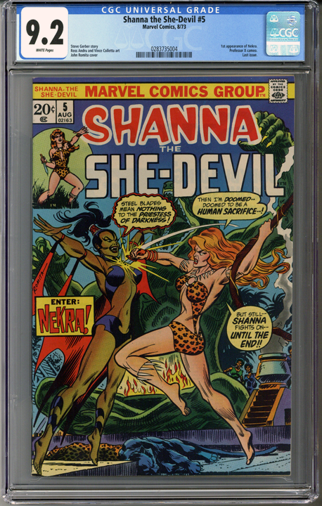 Colorado Comics - Shanna the She-Devil #5  CGC 9.2