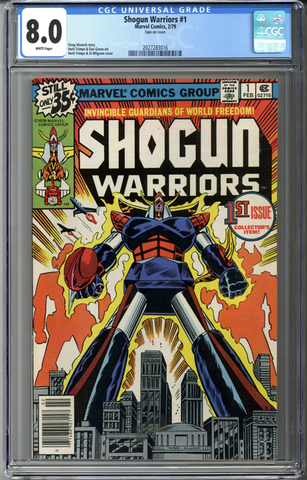 Shogun Warriors #1 CGC 8.0
