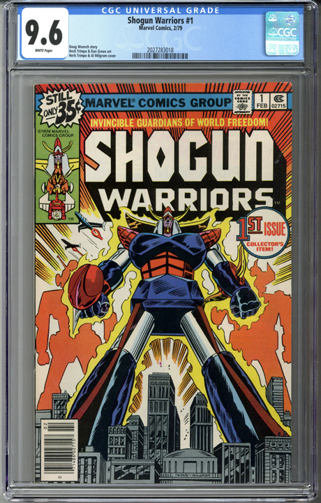Shogun Warriors #1 CGC 9.6