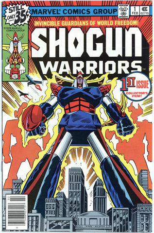Shogun Warriors #1 NM