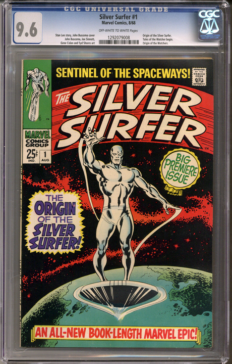 Silver Surfer #1 CGC 9.6