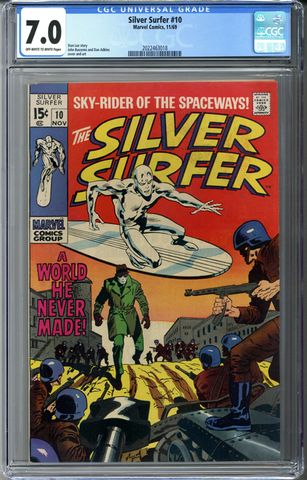 Silver Surfer #10 CGC 7.0