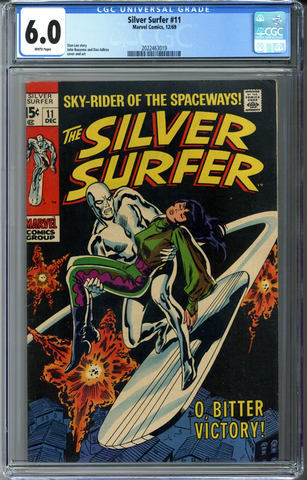 Silver Surfer #11 CGC 6.0