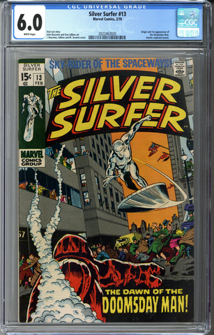 Silver Surfer #13 CGC 6.0