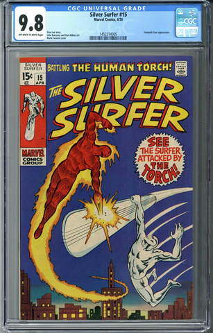 Silver Surfer #15 CGC 9.8