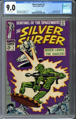 Silver Surfer #2 CGC 9.0