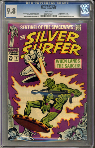 Silver Surfer #2 CGC 9.8