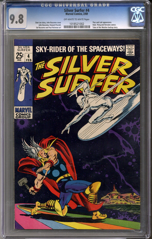Silver Surfer #4 CGC 9.8