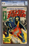 Silver Surfer #5 CGC 9.8