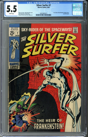 Silver Surfer #7 CGC 5.5