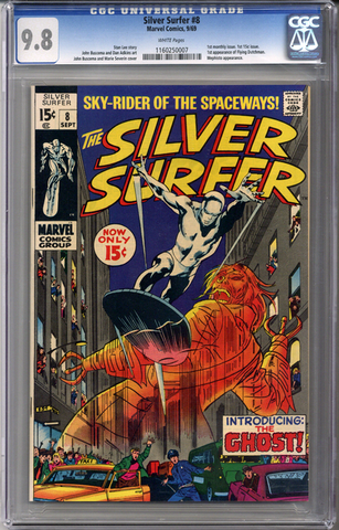 Silver Surfer #8 CGC 9.8