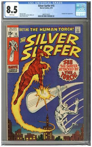 Silver Surfer #15 CGC 8.5