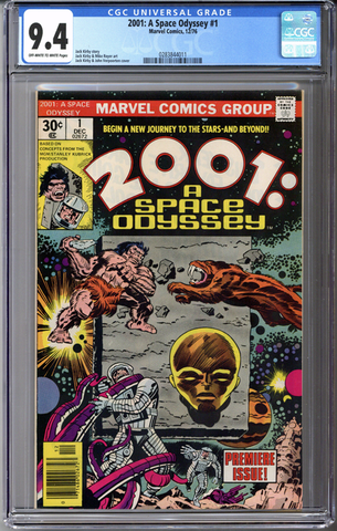 Colorado Comics - 2001: A Space Odyssey #1  CGC 9.4