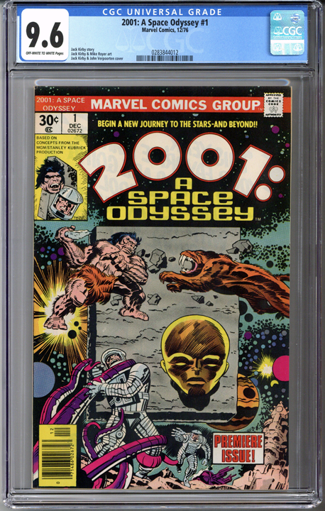 Colorado Comics - 2001: A Space Odyssey #1  CGC 9.6